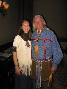 John and Ann-Marie Winterhawk Music & Storytelling of Southeastern Native Americans www.winterhawkpottery.com