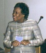 Rosalind Lett, CE Instructor & a GHSLA Past President, Director of the Medical Library, Crawford Long Hospital, Atlanta GA